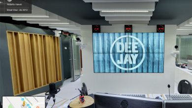 Photo of Visita virtuale negli studi di Radio DeeJay